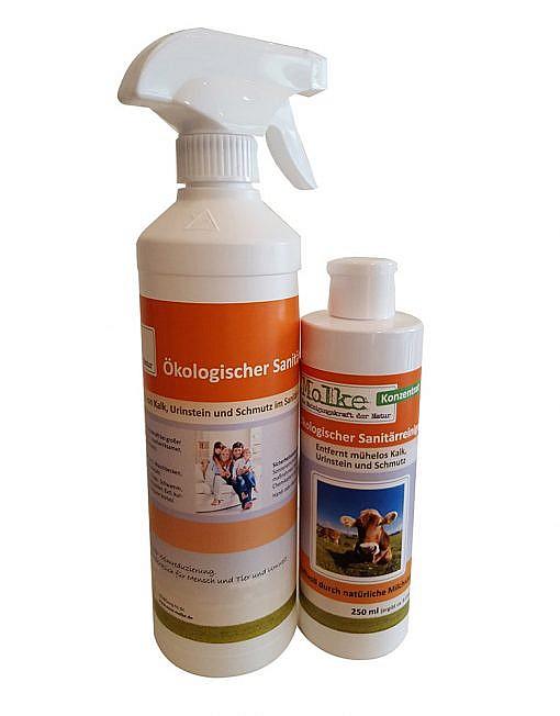 Sanitärreiniger ökologischer - Badreiniger - Molkereiniger