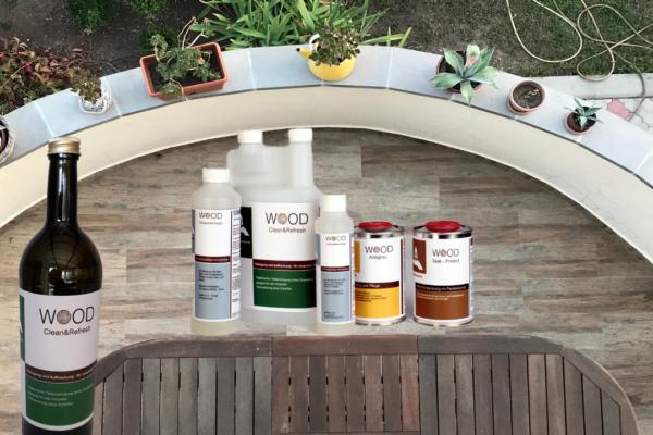WOOD-Spezialserie Holzmöbel Gartenmöbel
